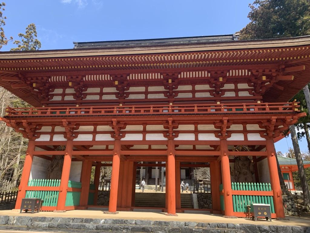 高野山 壇上伽藍 中門