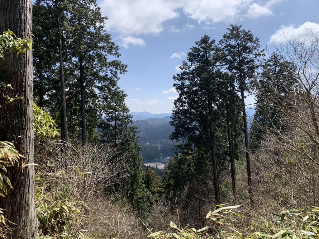高野山 弁天岳登山口